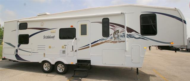 Used 2008 Forest River Wildcat 31QBSB Fifth Wheel For Sale