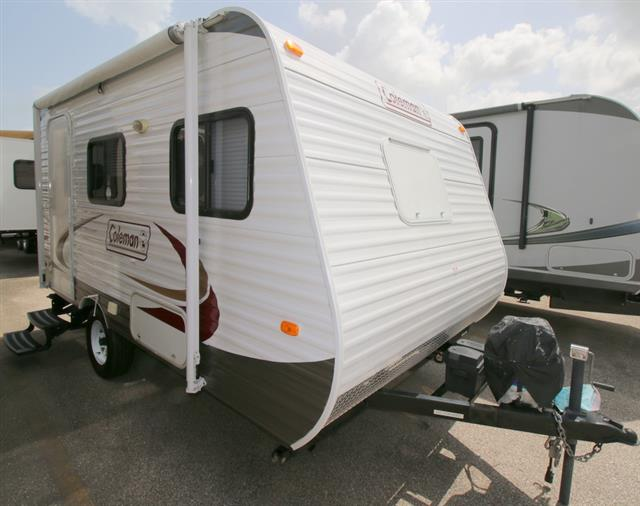 Used 2012 Dutchmen Coleman 14FD Travel Trailer For Sale