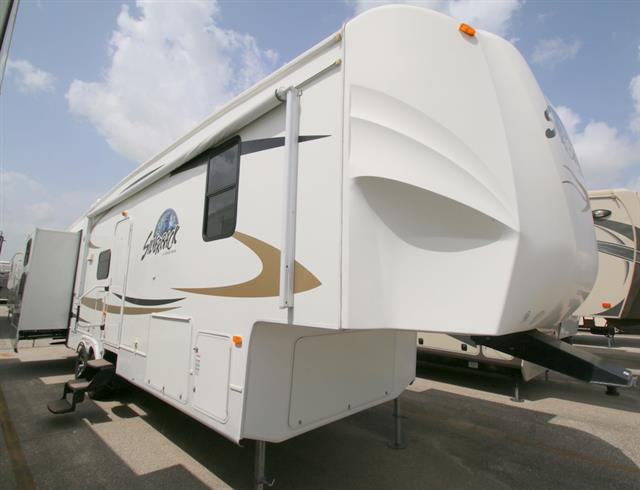 Used 2010 Forest River Silverback 31B Fifth Wheel For Sale