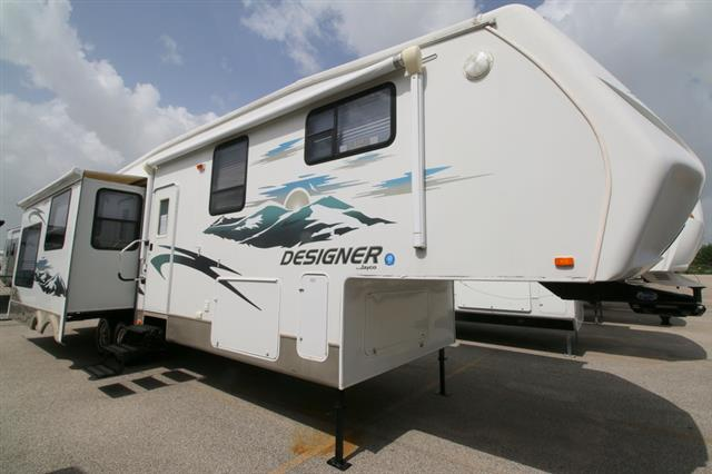 Used 2008 Jayco Designer 35RLTS Fifth Wheel For Sale