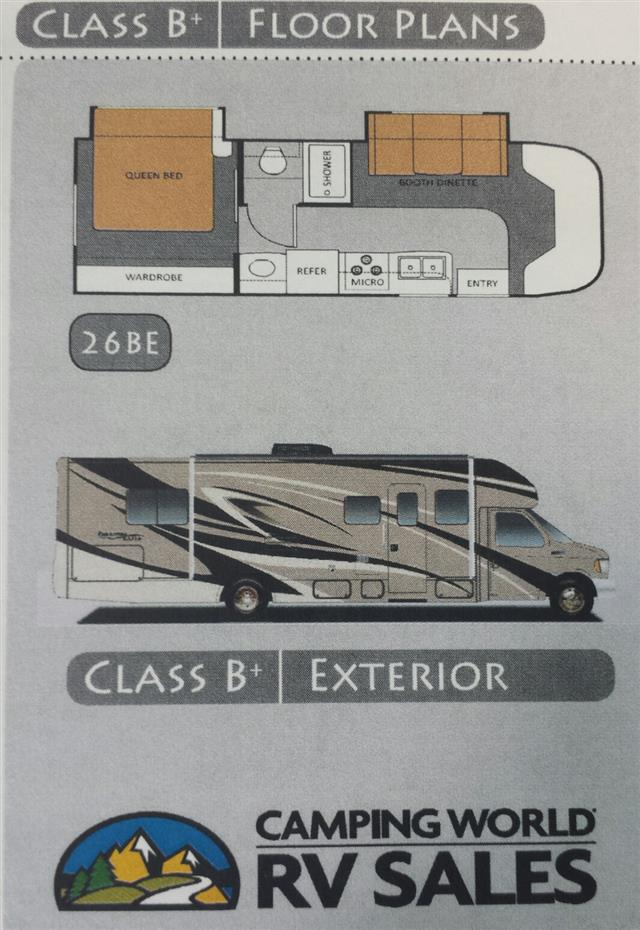 Used 2011 THOR MOTOR COACH Freedom Elite 26BE Class B Plus For Sale