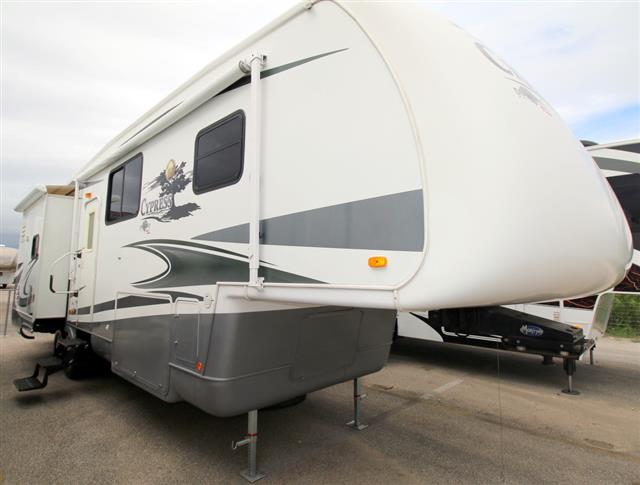 Used 2008 Newmar Cypress 33RLSH Fifth Wheel For Sale