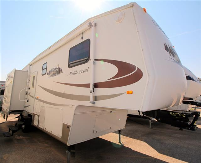 Used 2006 Sunnybrook Mobile Scout 31BWKS Fifth Wheel For Sale
