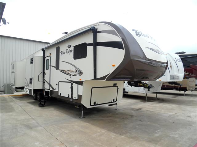 New 2016 Forest River BLUE RIDGE 3715BH Fifth Wheel For Sale