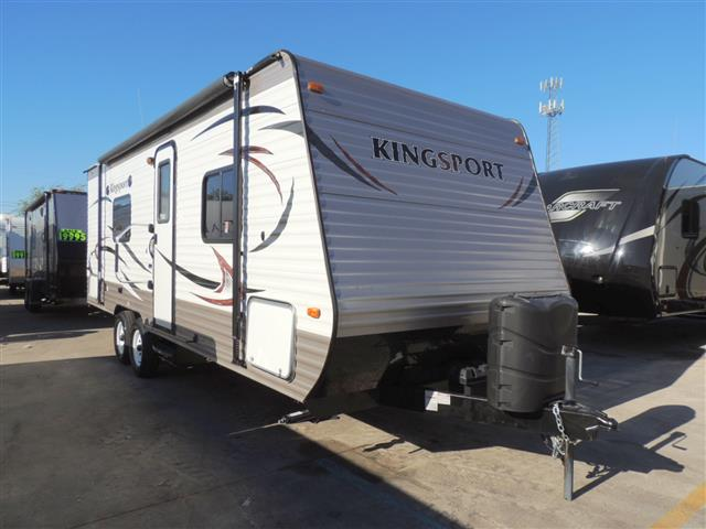 Used 2015 Gulfstream Kingsport M-20QBQ Travel Trailer For Sale