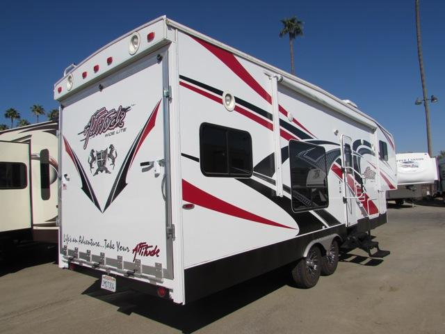 Used 2013 Eclipse Rv Attitude Fifth Wheel Toyhauler For