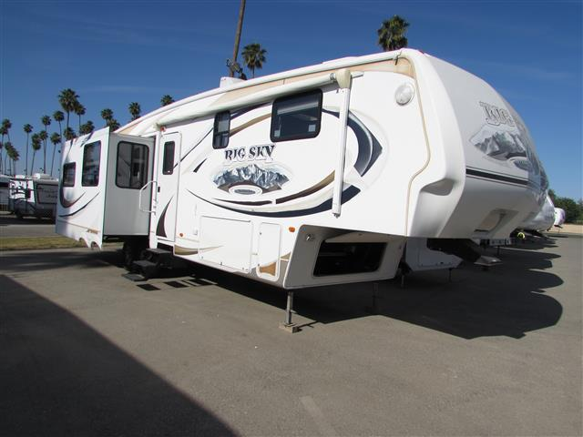 Used 2007 Keystone Big Sky 3400RL Fifth Wheel For Sale