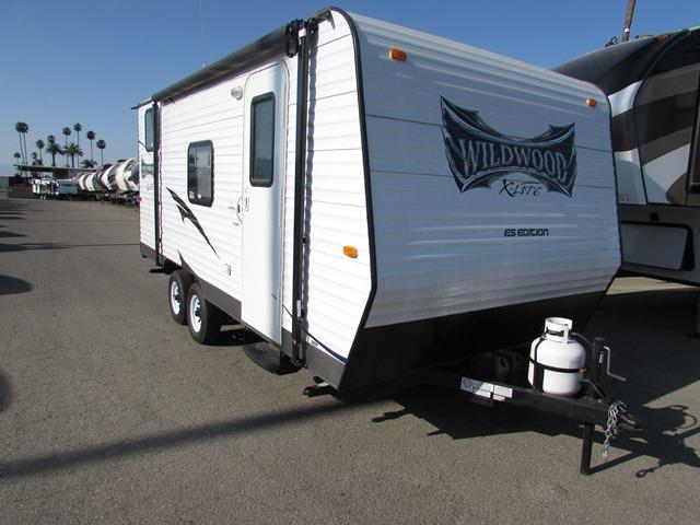 Used 2015 Forest River Wildwood 180BH Travel Trailer For Sale