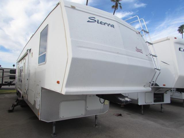 Used 2004 Forest River Sierra Sport 38F SPORT Fifth Wheel Toyhauler For Sale
