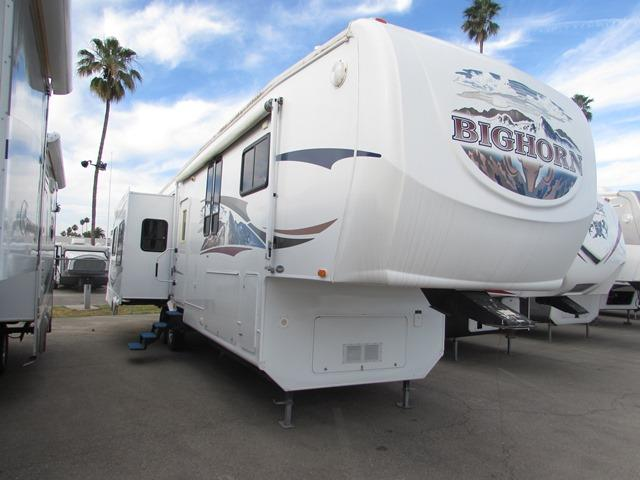 Used 2008 Heartland Big Horn 3670RL Fifth Wheel For Sale