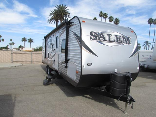 Used 2015 Forest River Salem 30QBSS Travel Trailer For Sale