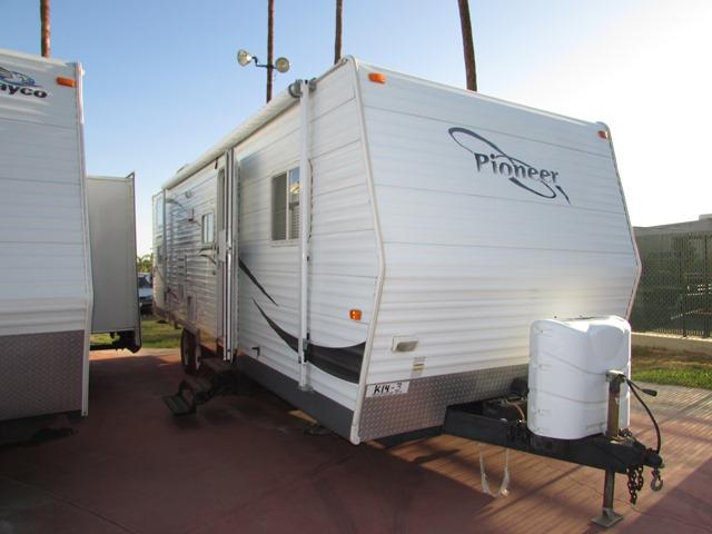 Used 2007 Fleetwood Pioneer 26BHS Travel Trailer For Sale