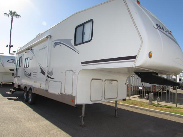 Used 2008 Thor Summit 295RLS Fifth Wheel For Sale