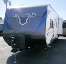 New 2015 Forest River Sandstorm 270GSLR Travel Trailer Toyhauler For Sale