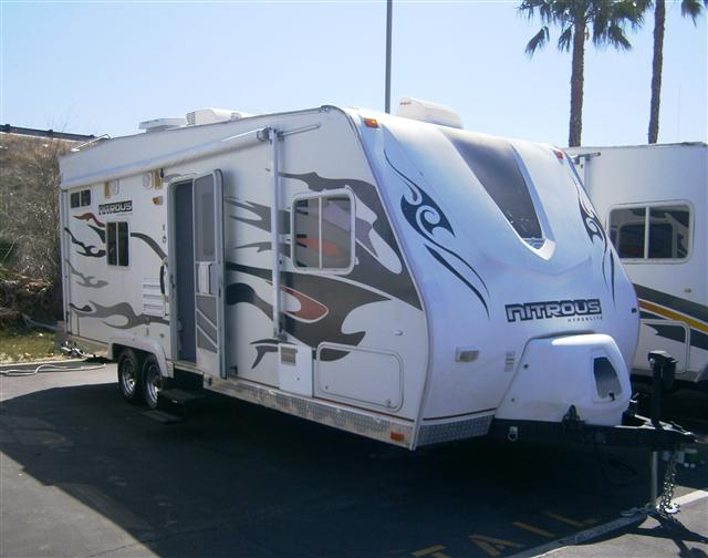 Buy a Used Fleetwood Nitrous Hyperlite Travel Trailer in Santa Clarita, CA.