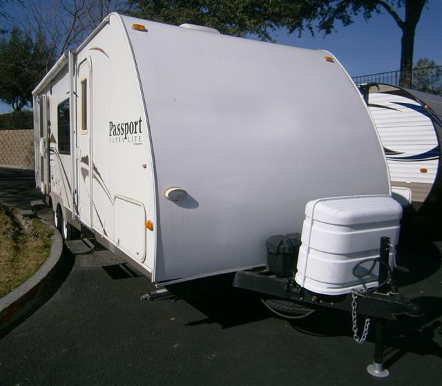 Used 2008 Keystone Passport 245RB Travel Trailer For Sale