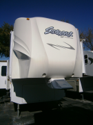 Used 2009 Forest River Silverback GII 30WRE Fifth Wheel For Sale
