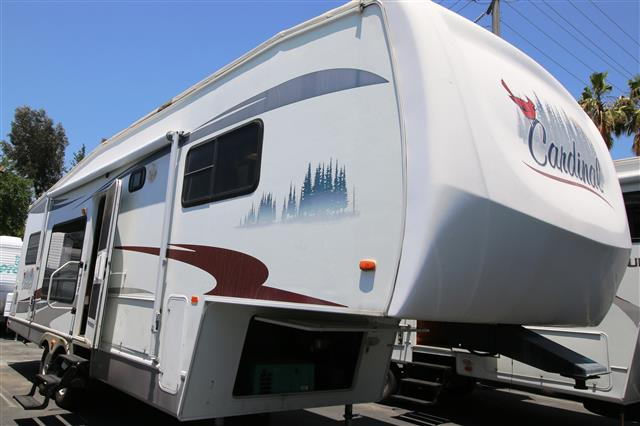Used 2005 Forest River Cardinal 29RK LE Fifth Wheel For Sale