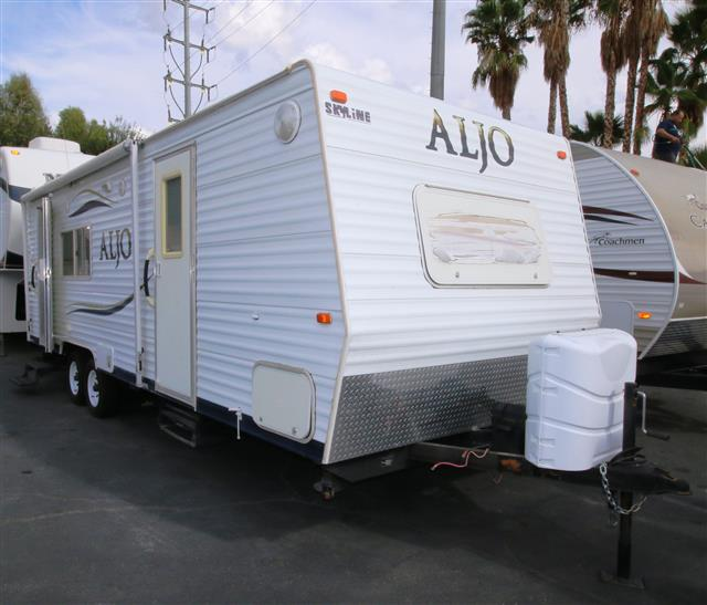 Used 2007 Skyline Aljo 250LT Travel Trailer For Sale