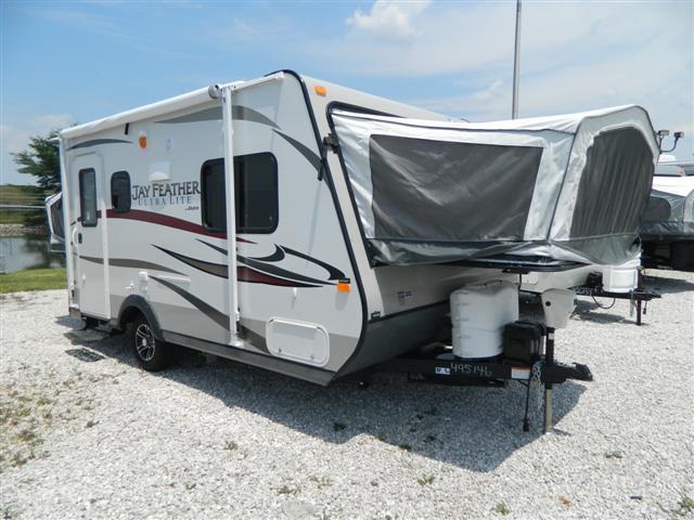 used2013 jayco jay feather hybrid travel trailer for sale. Black Bedroom Furniture Sets. Home Design Ideas