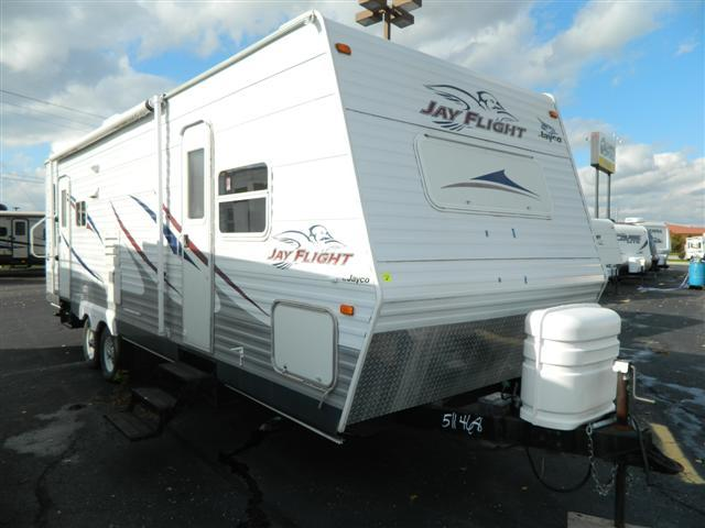 Brilliant 2006 Jayco Jayflight 28RLS Travel Trailer Stock 175842