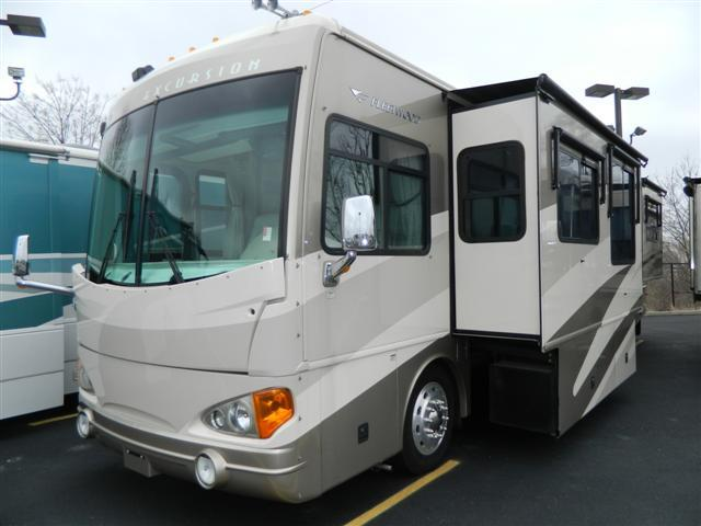 Buy a Used Fleetwood Excursion in Greenwood, IN.