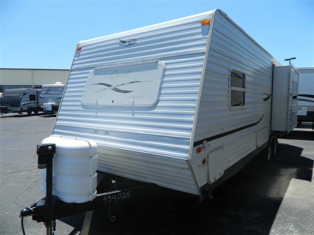Used 2002 Jayco Qwest 25RKS Travel Trailer For Sale