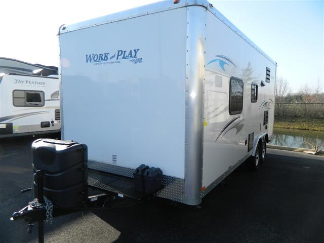Used 2014 Forest River Work And Play 18CE Travel Trailer Toyhauler For Sale
