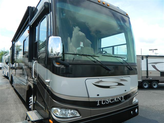 Used 2009 Damon Tuscany 4072 Class A - Diesel For Sale