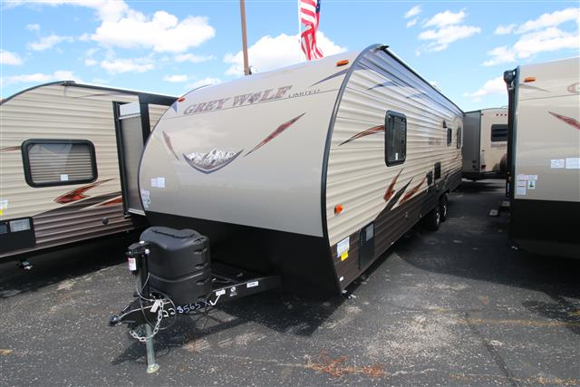 New 2016 Forest River Grey Wolf 26RR Travel Trailer Toyhauler For Sale