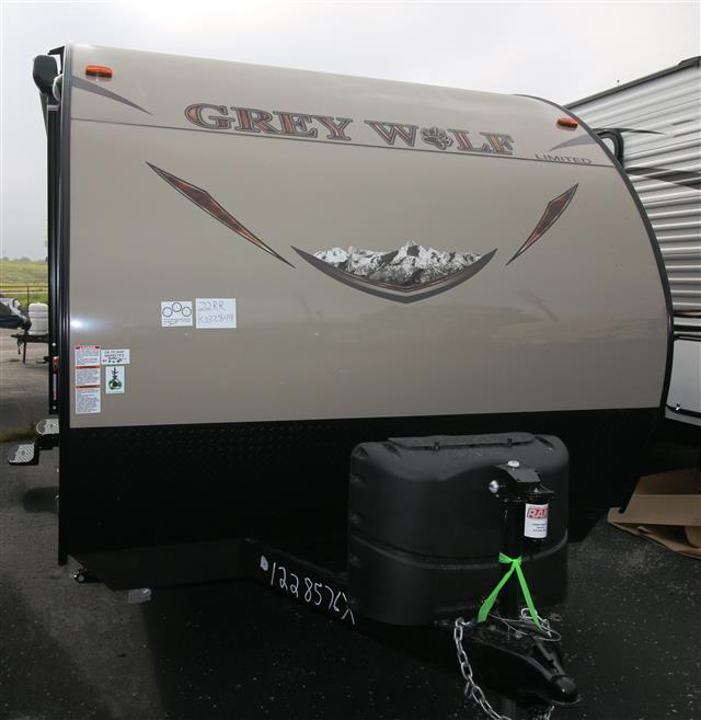 New 2016 Forest River Grey Wolf 22RR Travel Trailer Toyhauler For Sale
