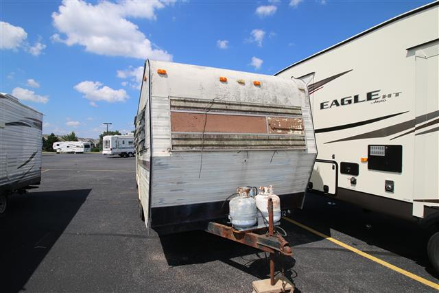Used 1972 Holiday Rambler Vacationer 22FT Travel Trailer For Sale