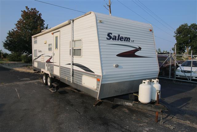 Used 2006 Forest River Salem M-29BHBS Travel Trailer For Sale