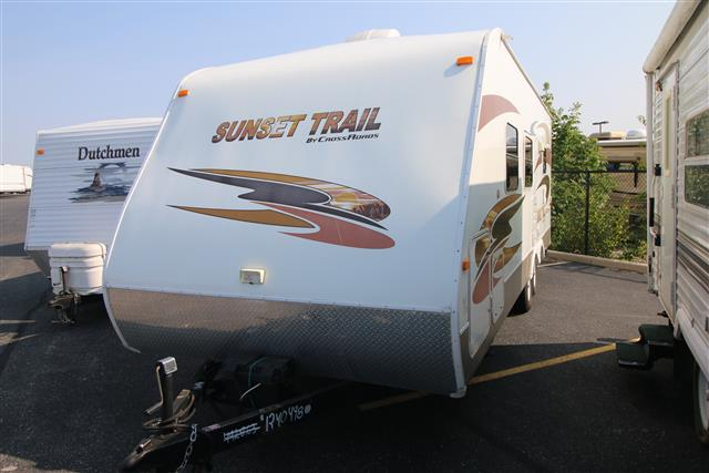 Used 2008 Crossroads Sunset Trail 20RB Travel Trailer For Sale