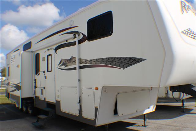 Used 2007 Keystone Raptor 3712 Fifth Wheel Toyhauler For Sale