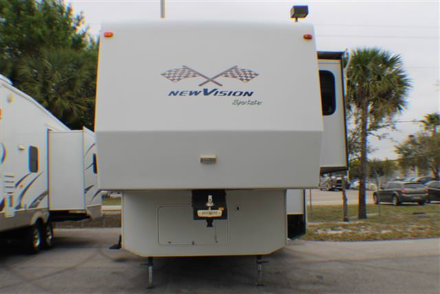 Used 2004 K-Z New Vision 36 Fifth Wheel Toyhauler For Sale