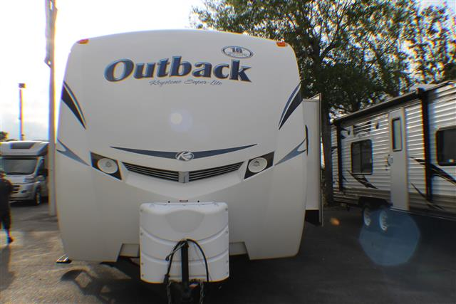 Used 2012 Keystone Outback 301BQ Travel Trailer For Sale