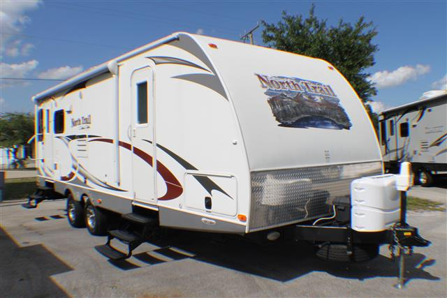 Used 2012 Heartland North Trail 26LRSS Travel Trailer For Sale