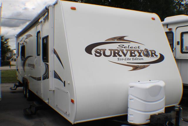 Used 2011 Forest River Surveyor 264 Travel Trailer For Sale