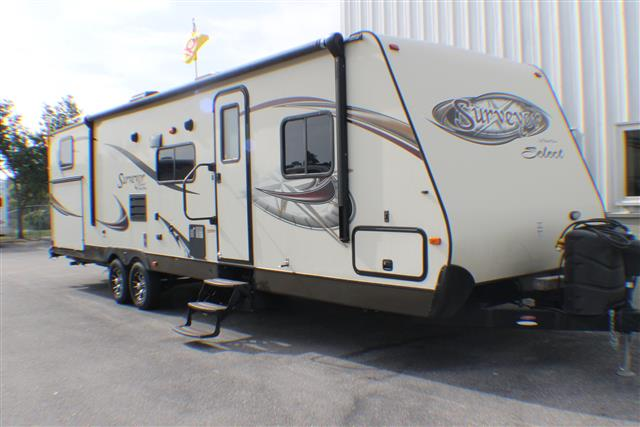 Used 2013 Forest River Surveyor SV305 Travel Trailer For Sale