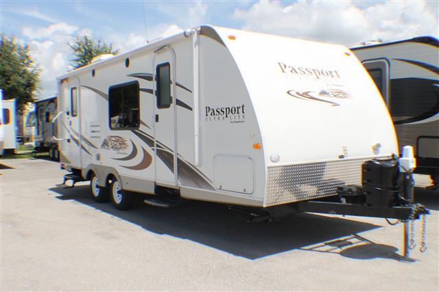 Used 2012 Keystone Passport 245RBS Travel Trailer For Sale