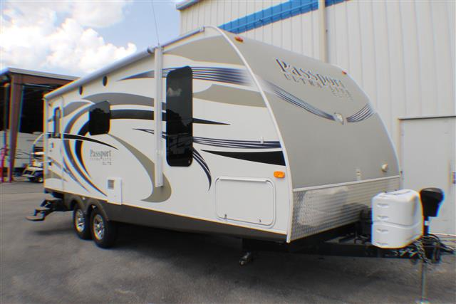Used 2013 Keystone Passport 23RB Travel Trailer For Sale