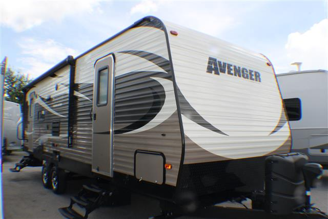 Used 2015 Forest River AVENGER 27RLS Travel Trailer For Sale