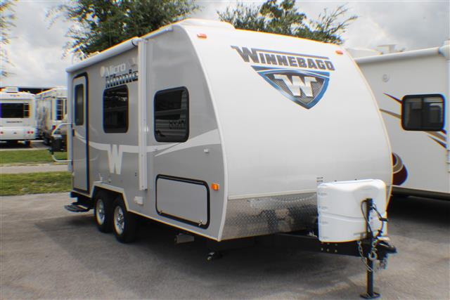 Used 2015 Winnebago Minnie 1706FB Travel Trailer For Sale