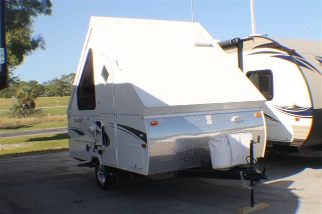 Used 2012 Forest River Flagstaff T10RD Travel Trailer For Sale