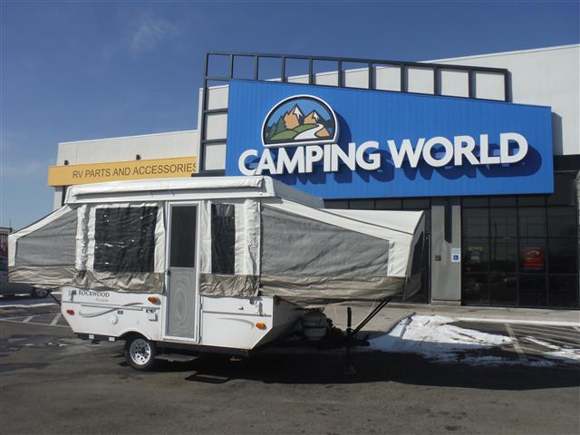 Buy a Used Rockwood Rv Rockwood in Council Bluffs, IA.