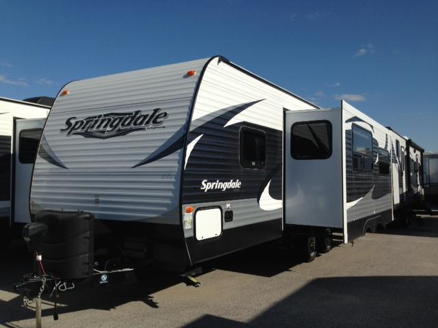New 2015 Keystone Springdale 266RLSSR Travel Trailer For Sale