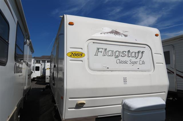 Used 2008 Flagstaff Flagstaff 831RLSS Travel Trailer For Sale