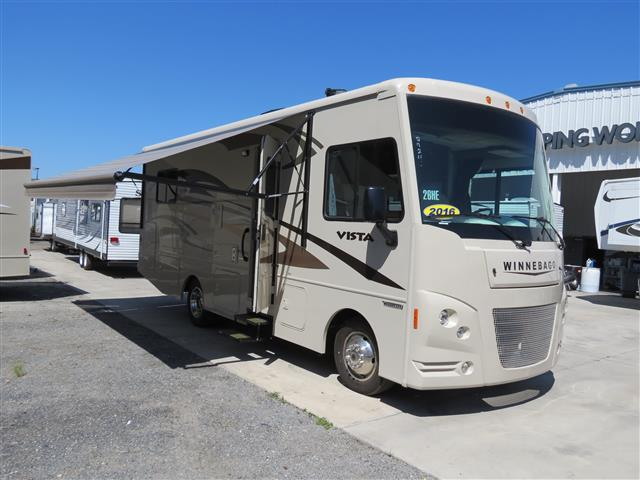 New 2016 Winnebago Vista 26HE Class A - Gas For Sale