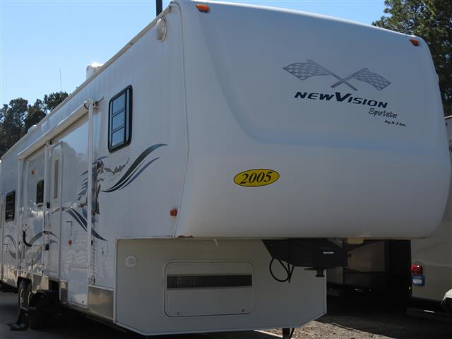 Used 2005 K-Z Sportsman 36 Fifth Wheel Toyhauler For Sale